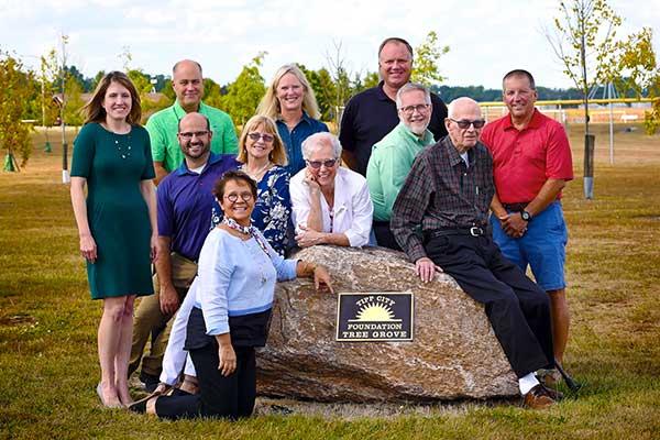 Tipp City Foundation Board of volunteers