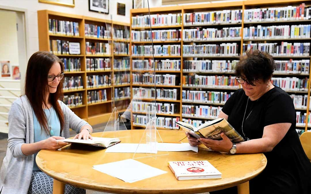 Tipp library collaborates with Brunner Literacy Center
