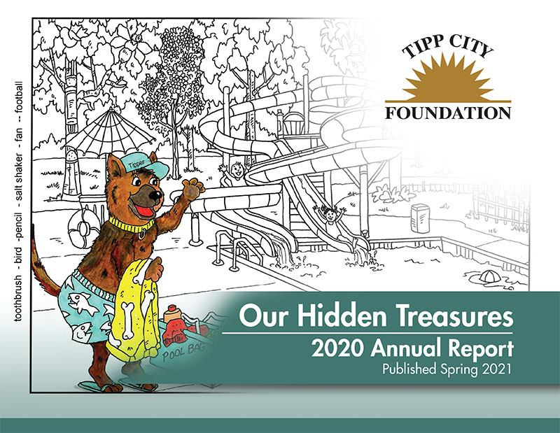Tipp City Foundation's annual report features local artist Liz Ball
