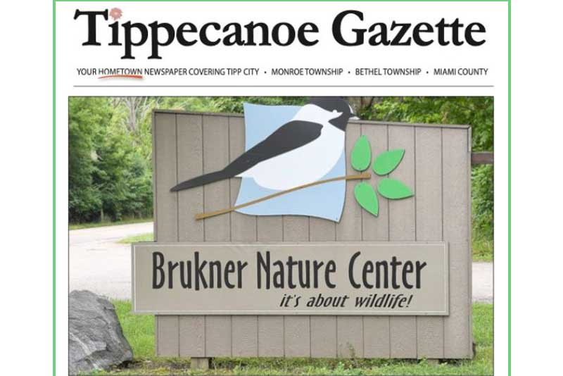 Brukner Nature Center Uses Tipp City Foundation Grant To Purchase Promotional Material